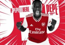pepe arsenal